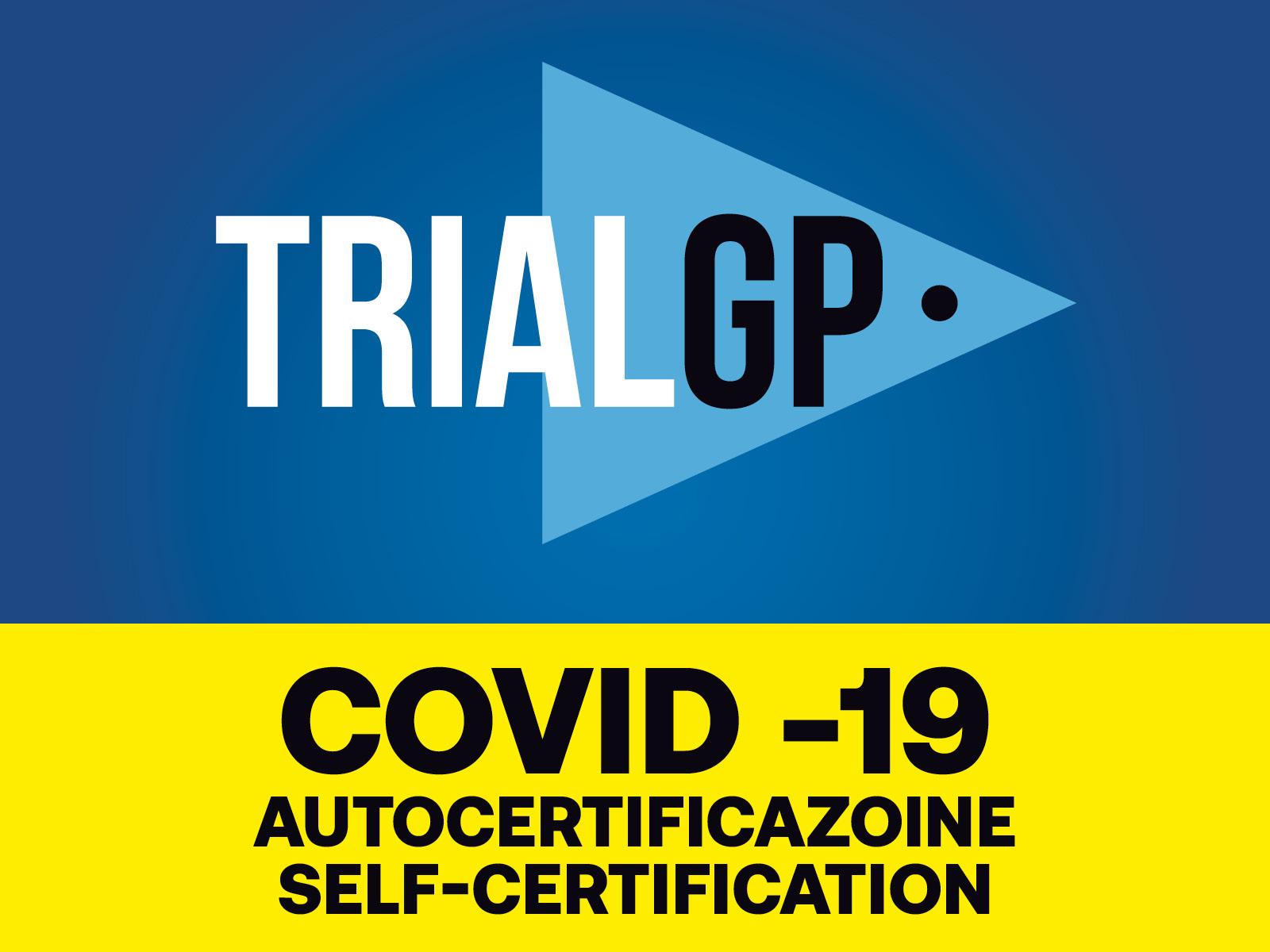 COVID-19 AUTOCERTIFICAZIONE / SELF-CERTIFICATION
